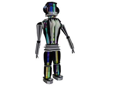 Mrs Robot, Laurence Jenkell