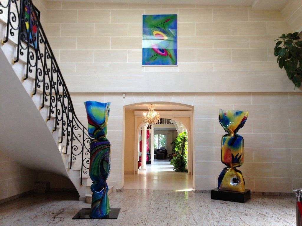 Laurence Jenkell works of art, fondation, Breux Jouy
