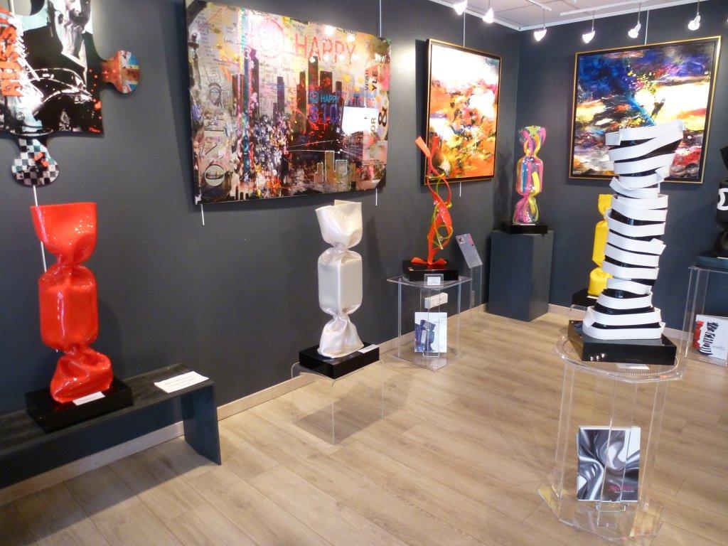 Laurence Jenkell exhibition, Saint Martin gallery, Arcachon