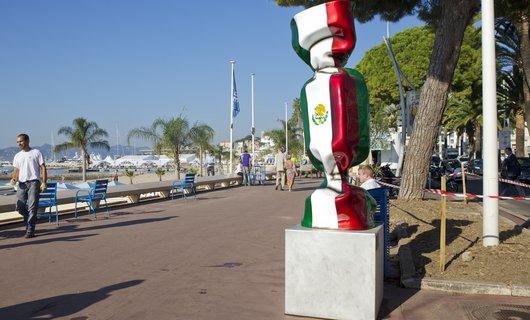 G20, Jenkell sculptures, Croisette, Cannes