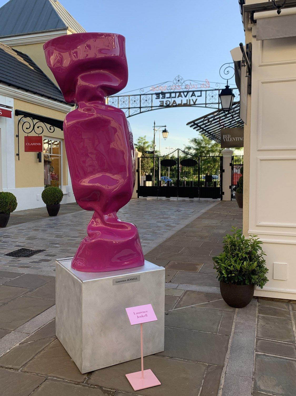 Pink candy, La Vallée Village
